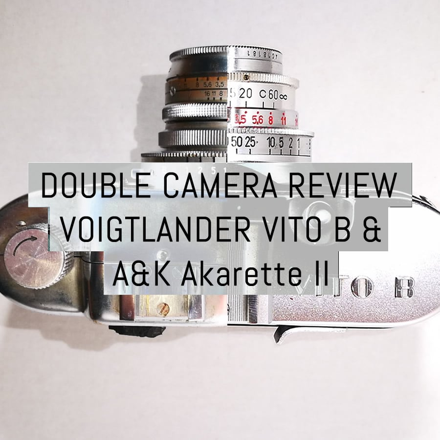 Double review: Voigtlander Vito B & Apparate & Kamerabau Akarette II - by Tobias Eriksson